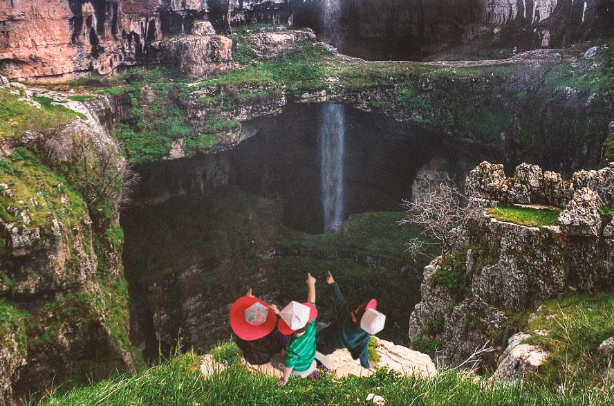 Kanjon vodopad Baatara