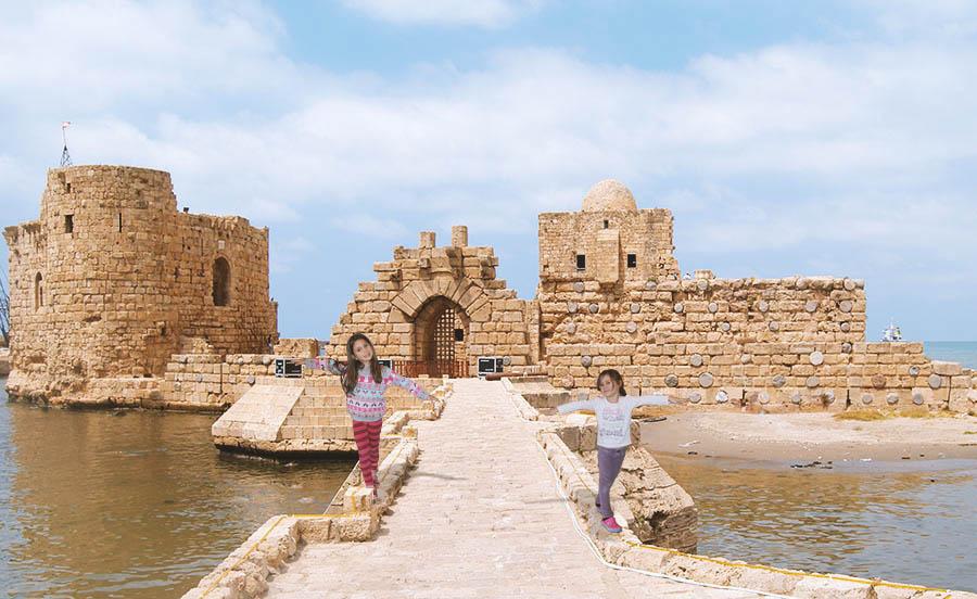 Sidonski zamak, Sidon