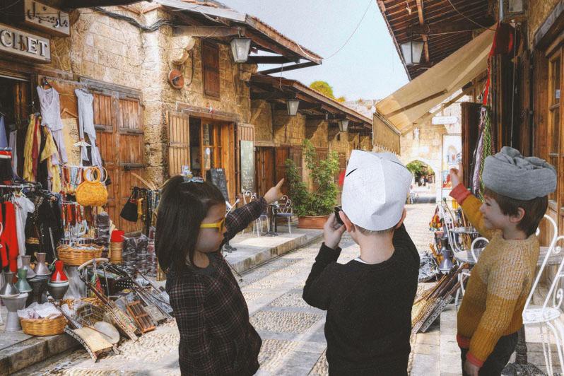 Tradicionalni stari bazar u Biblosu