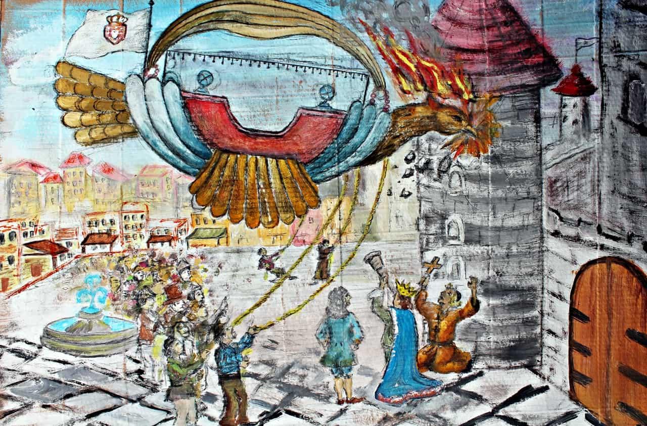 istorija letećih balona, vrtić povratak prirodi 05