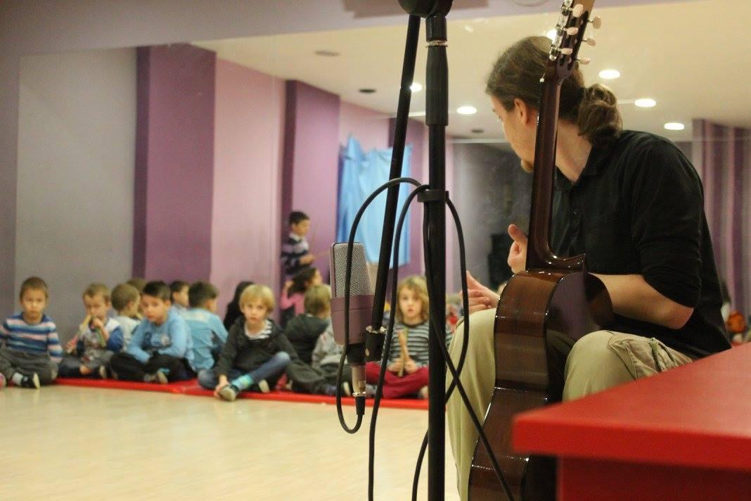 snimanje muzike sa decom