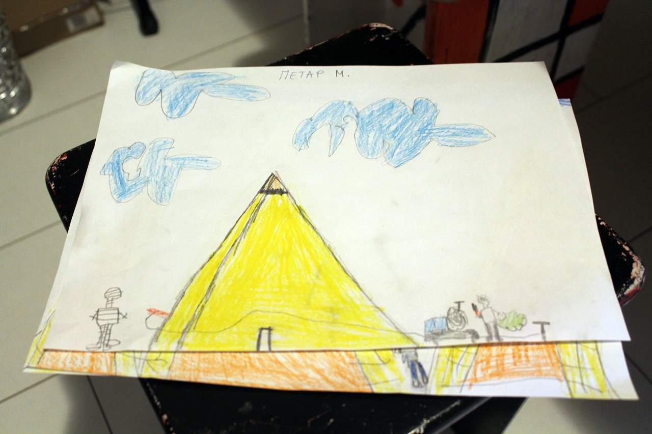 vrtić Povratak prirodi, Egipat, piramide01