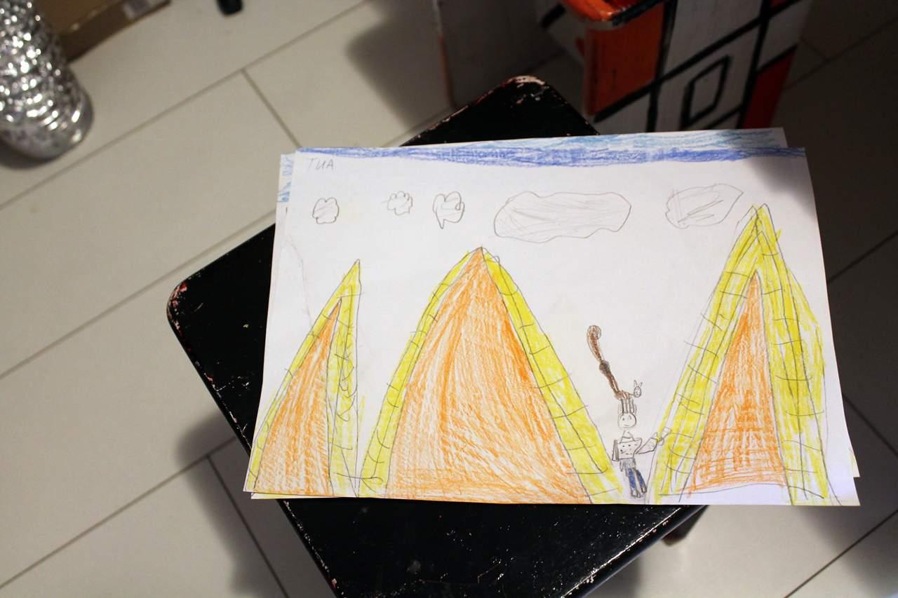 vrtić Povratak prirodi, Egipat, piramide02
